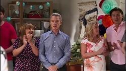 Terese Willis, Paul Robinson, Sheila Canning, Leo Tanaka in Neighbours Episode 8109