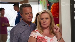 Paul Robinson, Sheila Canning in Neighbours Episode 8110