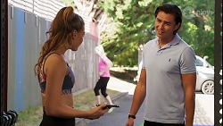Chloe Brennan, Leo Tanaka in Neighbours Episode 8110