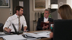 Ned Willis, Paul Robinson, Terese Willis in Neighbours Episode 8111