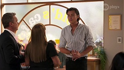 Paul Robinson, Terese Willis, Leo Tanaka in Neighbours Episode 8111
