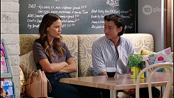Elly Brennan, Leo Tanaka in Neighbours Episode 8112