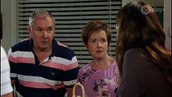 Karl Kennedy, Susan Kennedy, Elly Brennan in Neighbours Episode 8112