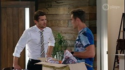 Ned Willis, Aaron Brennan in Neighbours Episode 8112