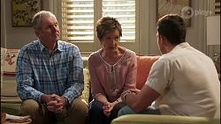 Karl Kennedy, Susan Kennedy, Shaun Watkins in Neighbours Episode 8113