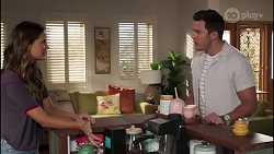 Elly Brennan, Shaun Watkins in Neighbours Episode 8113