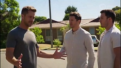 Mark Brennan, Finn Kelly, Shaun Watkins in Neighbours Episode 8113