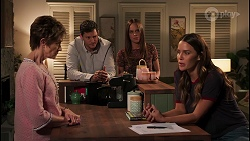 Susan Kennedy, Finn Kelly, Bea Nilsson, Elly Brennan in Neighbours Episode 8114