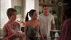 Susan Kennedy, Bea Nilsson, Shaun Watkins in Neighbours Episode 8114
