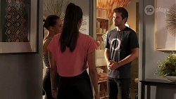 Bea Nilsson, Yashvi Rebecchi, Ned Willis in Neighbours Episode 8115