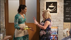Dipi Rebecchi, Sheila Canning in Neighbours Episode 8116