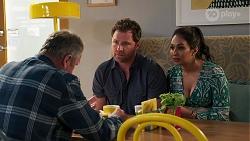 Karl Kennedy, Shane Rebecchi, Dipi Rebecchi in Neighbours Episode 8117