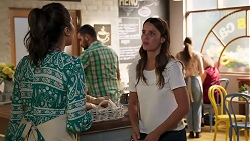 Dipi Rebecchi, Elly Brennan in Neighbours Episode 8117