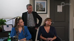 Chloe Brennan, Paul Robinson, Terese Willis in Neighbours Episode 8117