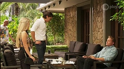 Roxy Willis, Leo Tanaka, Vance Abernethy in Neighbours Episode 8117