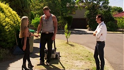 Roxy Willis, Vance Abernethy, Leo Tanaka in Neighbours Episode 8117
