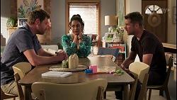 Shane Rebecchi, Dipi Rebecchi, Mark Brennan in Neighbours Episode 8118