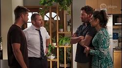 Mark Brennan, Toadie Rebecchi, Shane Rebecchi, Dipi Rebecchi in Neighbours Episode 8118