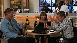 Vance Abernethy, Terese Willis, Paul Robinson in Neighbours Episode 8118