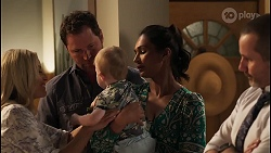 Andrea Somers, Shane Rebecchi, Hugo Somers, Dipi Rebecchi, Toadie Rebecchi in Neighbours Episode 8118