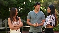 Bea Nilsson, Finn Kelly, Yashvi Rebecchi in Neighbours Episode 8119