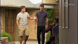 Aaron Brennan, Mark Brennan in Neighbours Episode 8119