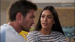 Ned Willis, Yashvi Rebecchi in Neighbours Episode 8119