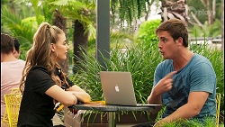 Chloe Brennan, Kyle Canning in Neighbours Episode 8120