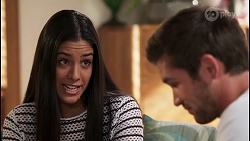 Yashvi Rebecchi, Ned Willis in Neighbours Episode 8120