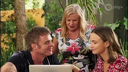Gary Canning, Sheila Canning, Amy Williams in Neighbours Episode 8120