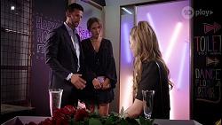 Pierce Greyson, Ebony Buttrose, Chloe Brennan in Neighbours Episode 8121