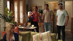 Andrea Somers, Elly Brennan, Shane Rebecchi in Neighbours Episode 8121