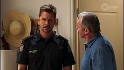 Mark Brennan, Karl Kennedy in Neighbours Episode 8121