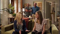 Toadie Rebecchi, Karl Kennedy, Andrea Somers, Willow Somers in Neighbours Episode 8121