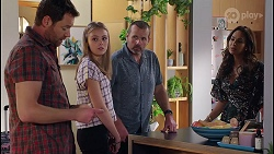 Shane Rebecchi, Willow Somers, Toadie Rebecchi, Dipi Rebecchi in Neighbours Episode 8122