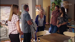 Willow Somers, Toadie Rebecchi, Andrea Somers, Shane Rebecchi, Dipi Rebecchi in Neighbours Episode 8122