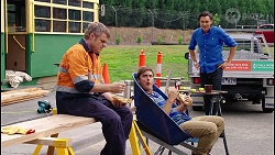 Gary Canning, Kyle Canning, Leo Tanaka in Neighbours Episode 8122