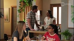 Willow Somers, Shane Rebecchi, Dipi Rebecchi, Kirsha Rebecchi in Neighbours Episode 8123