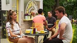 Chloe Brennan, Kyle Canning in Neighbours Episode 8123