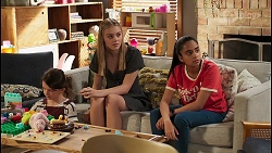 Nell Rebecchi, Willow Somers, Kirsha Rebecchi in Neighbours Episode 8123