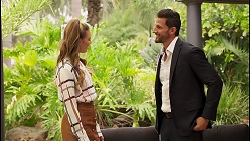 Chloe Brennan, Pierce Greyson in Neighbours Episode 8123