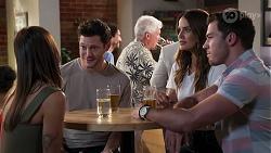Bea Nilsson, Finn Kelly, Elly Brennan, Shaun Watkins in Neighbours Episode 8124