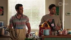 Shaun Watkins, Finn Kelly in Neighbours Episode 8124