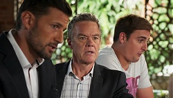 Pierce Greyson, Paul Robinson, Kyle Canning in Neighbours Episode 8124