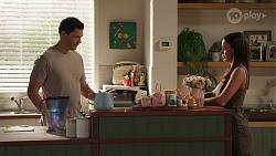 Finn Kelly, Bea Nilsson in Neighbours Episode 8124