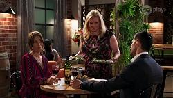 Ebony Buttrose, Sheila Canning, Pierce Greyson in Neighbours Episode 8125