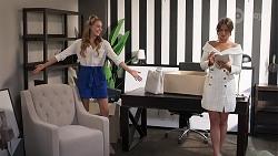 Chloe Brennan, Ebony Buttrose in Neighbours Episode 8125