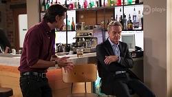 Leo Tanaka, Paul Robinson in Neighbours Episode 8125