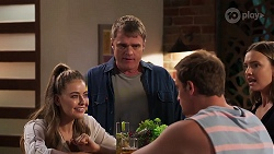 Chloe Brennan, Gary Canning, Kyle Canning, Amy Williams in Neighbours Episode 8126