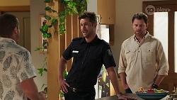 Toadie Rebecchi, Mark Brennan, Shane Rebecchi in Neighbours Episode 8126